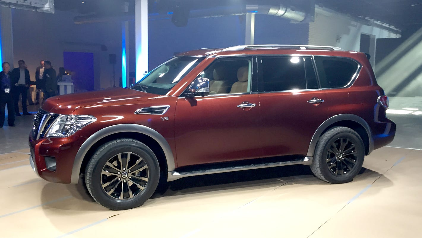 7 Passenger Suv >> Nissan unleashes rugged, refined, redesigned Armada SUV