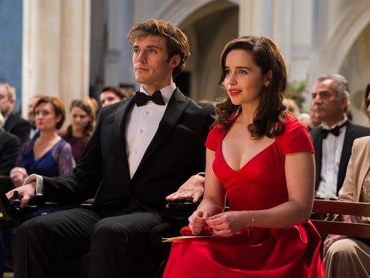 Sam Claflin and Emilia Clarke in 'Me Before You.'