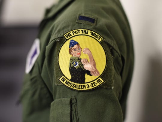 The patch female missileers are wearing as the Air