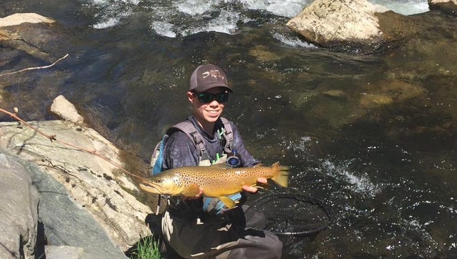 Smoky Mountain's Alex Boyer has been named to the U.S. Youth Fly Fishing Team.