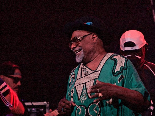 George Clinton performed May 3 at Southwest Florida
