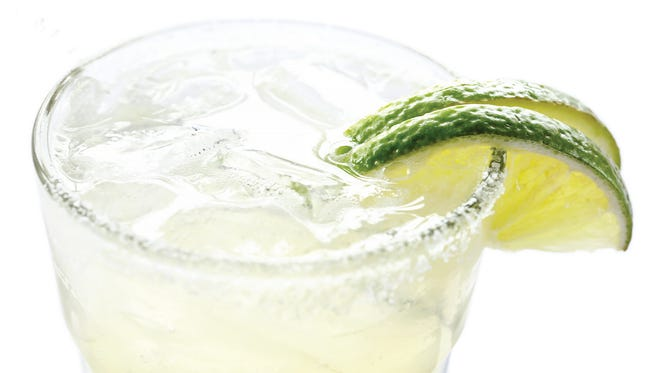 The Cadillac margarita comes with a drizzle of Grand Marnier.