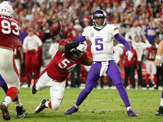 Minnesota Vikings v Arizona Cardinals