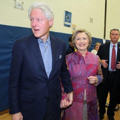 Chelsea Clinton visits Metuchen