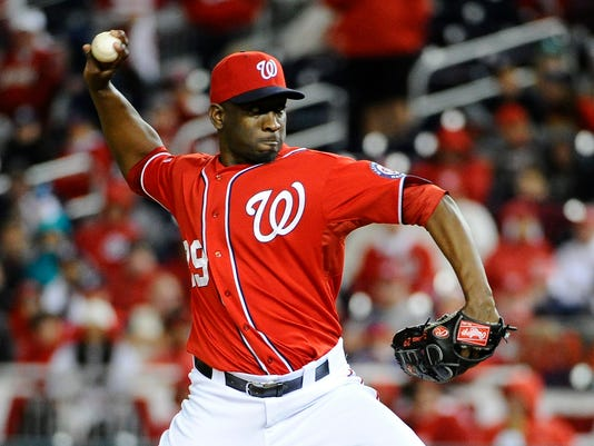 MLB: NLDS-San Francisco Giants at Washington Nationals
