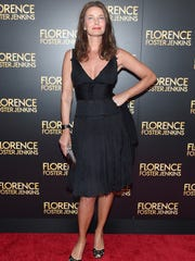 "Paulina Porizkova attends the ""Florence Foster Jenkins"" New York premiere at AMC Loews Lincoln Square 13 theater on August 9, 2016 in New York City."