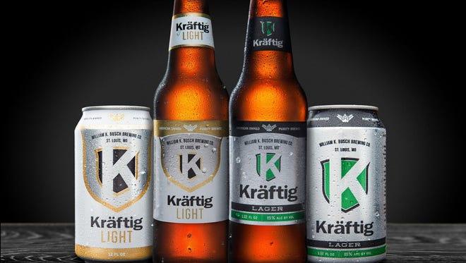 Kraftig, a beer made by William K. Busch Brewing Co. in St. Louis, is changing its packaging in southwest Missouri beginning the week of April 3, 2017, the company said.