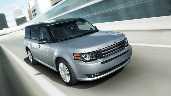 Ford's Flex is one of the vehicles being recalled.