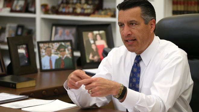 Hundreds of thousands of people have taken advantage of Gov. Brian Sandoval's decision to expand Medicaid eligibility, a trend that's largely responsible for the state's uninsured rate plummeting from 20 percent in 2013 to 15.7 percent in 2014.
