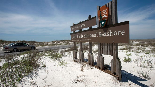 The National Park Service is celebrating its 100th anniversary this week by waving entry fees Fort Pickens and the Gulf Islands National Seashore.  Entry to 59 other parks the NPS system will free this week as well.