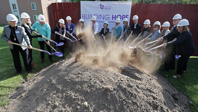 A groundbreaking ceremony for the Harbor House expansion took place Wednesday in Appleton.