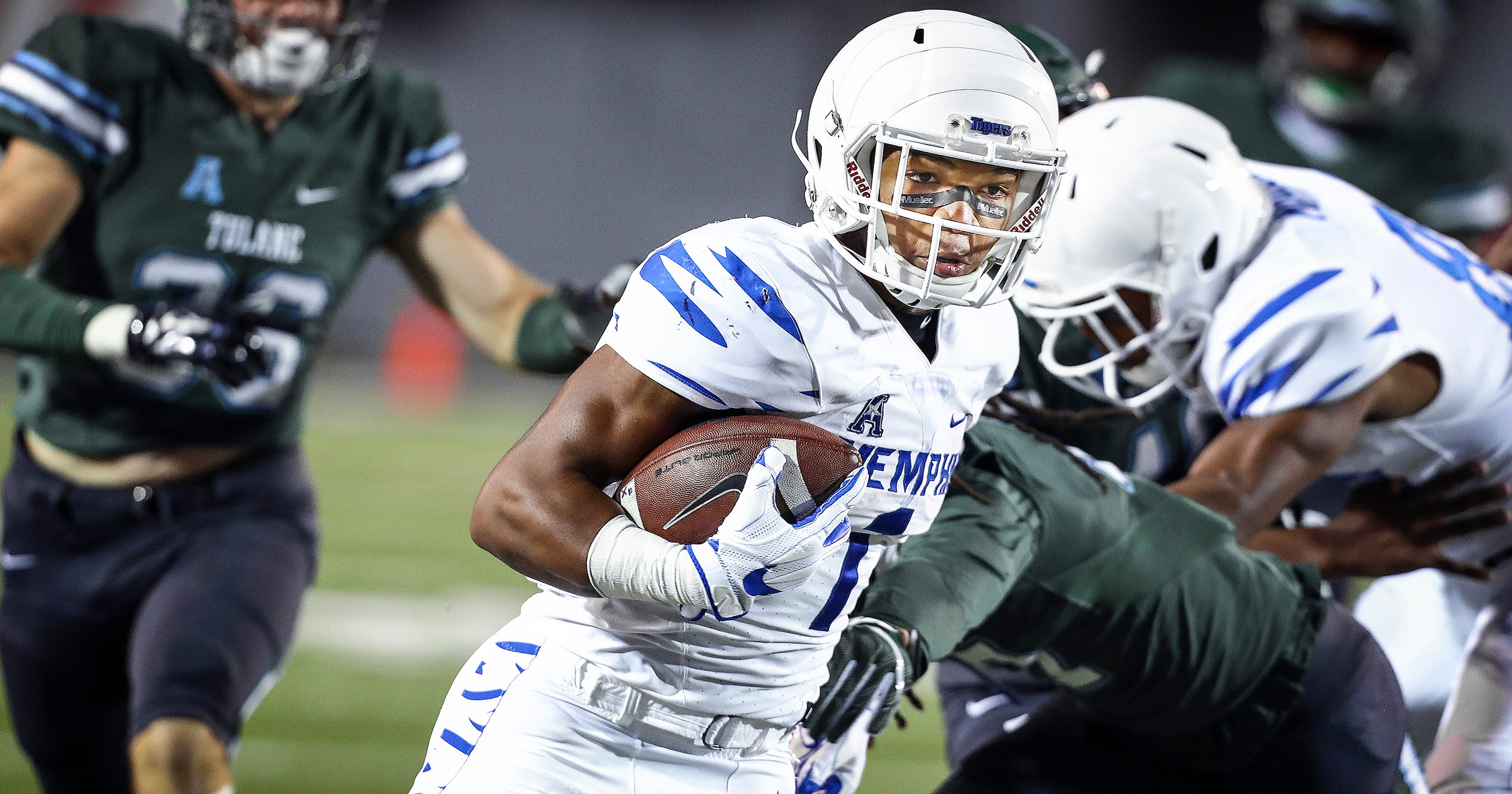 Nine Memphis Tigers football players earn All-AAC honors