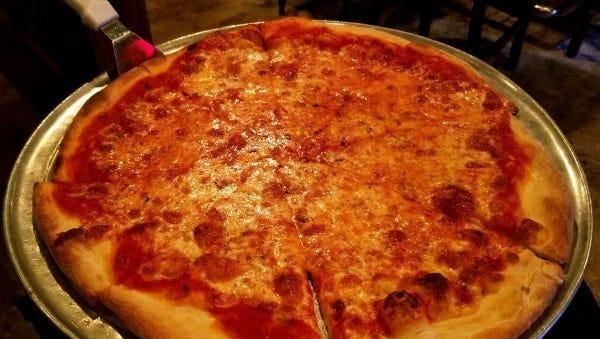 Carmela's Neapolitan pizza