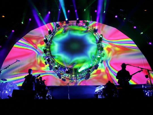 Brit Floyd, a Pink Floyd tribute band, performs June