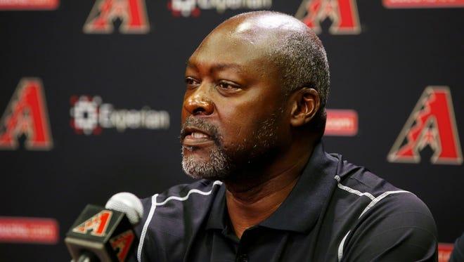 Arizona Diamondbacks General Manager Dave Stewart.