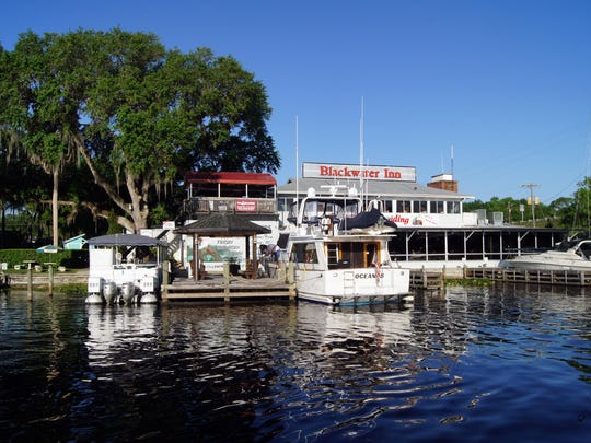 The Blackwater Inn restaurant is located on the St.