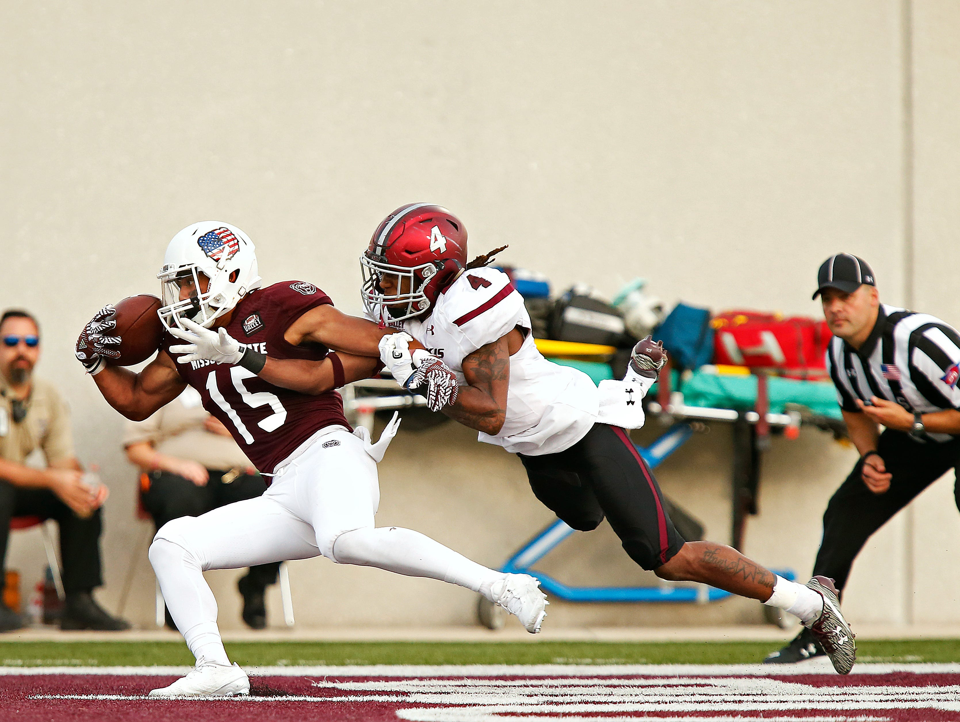 Zac Hoover's one-handed touchdown catch in Missouri State's victory over Southern Illinois is one of the lasting highlights from the 2016 season.
