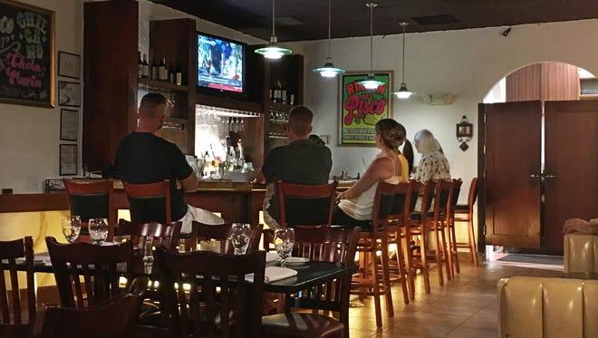 Lima restaurant's pisco bar