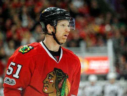 Defenseman Brian Campbell. Announced his retirement