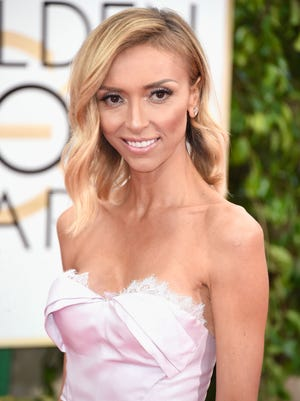 BEVERLY HILLS, CA - JANUARY 11:  TV personality Giuliana Rancic attends the 72nd Annual Golden Globe Awards at The Beverly Hilton Hotel on January 11, 2015 in Beverly Hills, California.  (Photo by Frazer Harrison/Getty Images) ORG XMIT: 531169445 ORIG FILE ID: 461350074