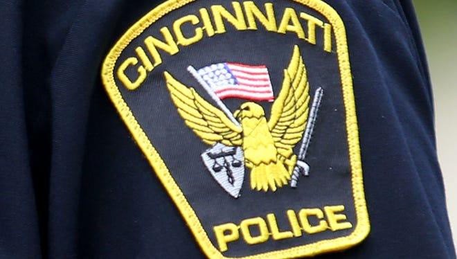 Cincinnati Police Department patch.
