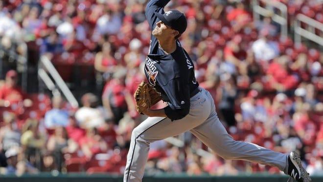 Former Mauldin High and Greenville Drive pitcher Madison Younginer made his major league debut Sunday with the Atlanta Braves.