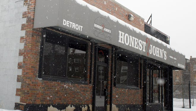Honest John's Bar and Grill is located on Selden in Detroit's Midtown.