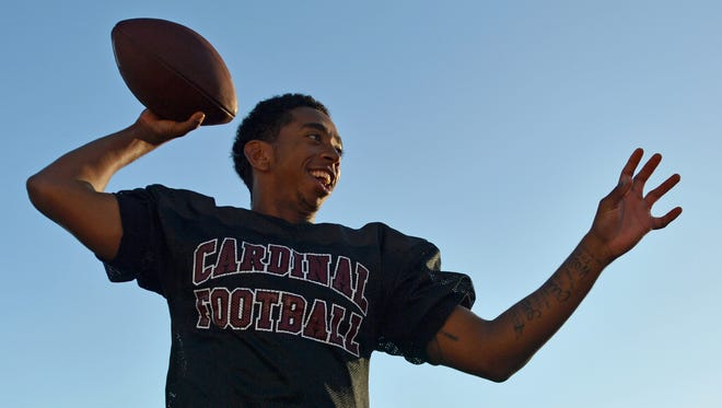 Santa Paula High quarterback Keshaun Mata can't wait to get back on the field after having cancer surgery early last week.