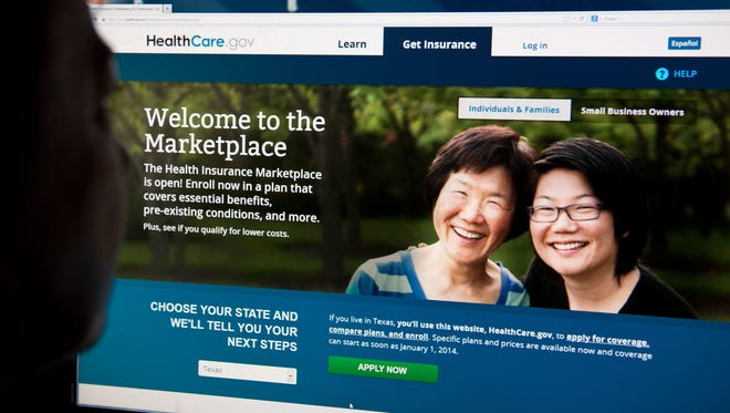 The Affordable Care Act's open enrollment period begins Nov. 1.