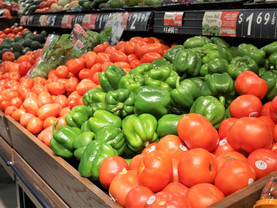 The Double Up Food Bucks program allows shoppers to purchase fresh fruit and vegetables with a dollar-for-dollar match.