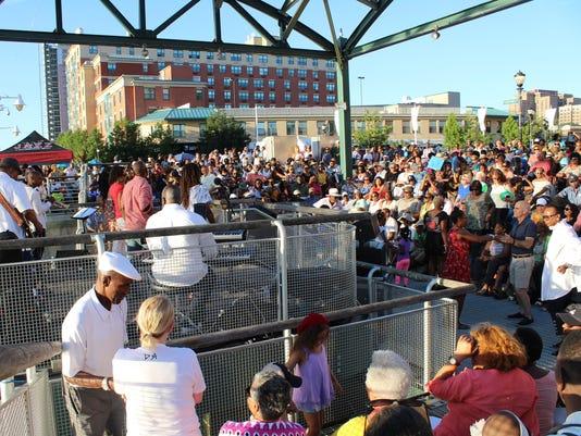 Yonkers pier concert