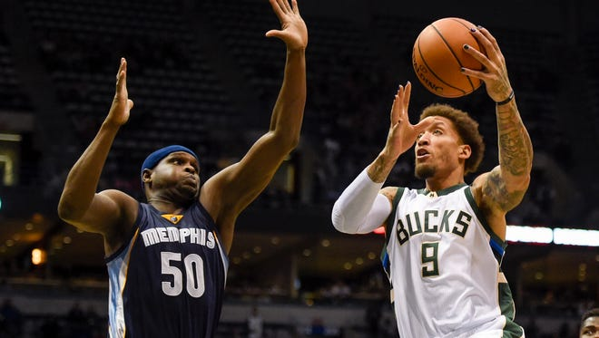 Michael Beasley has averaged 8.2 points over the Bucks' first nine games.