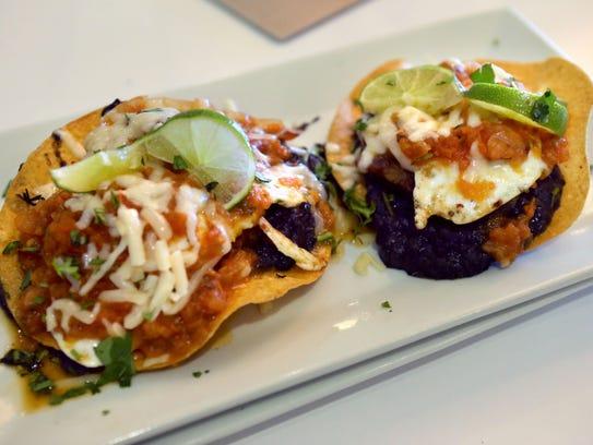 Huevos Rancheros at Staks Pancake Kitchen with fresh