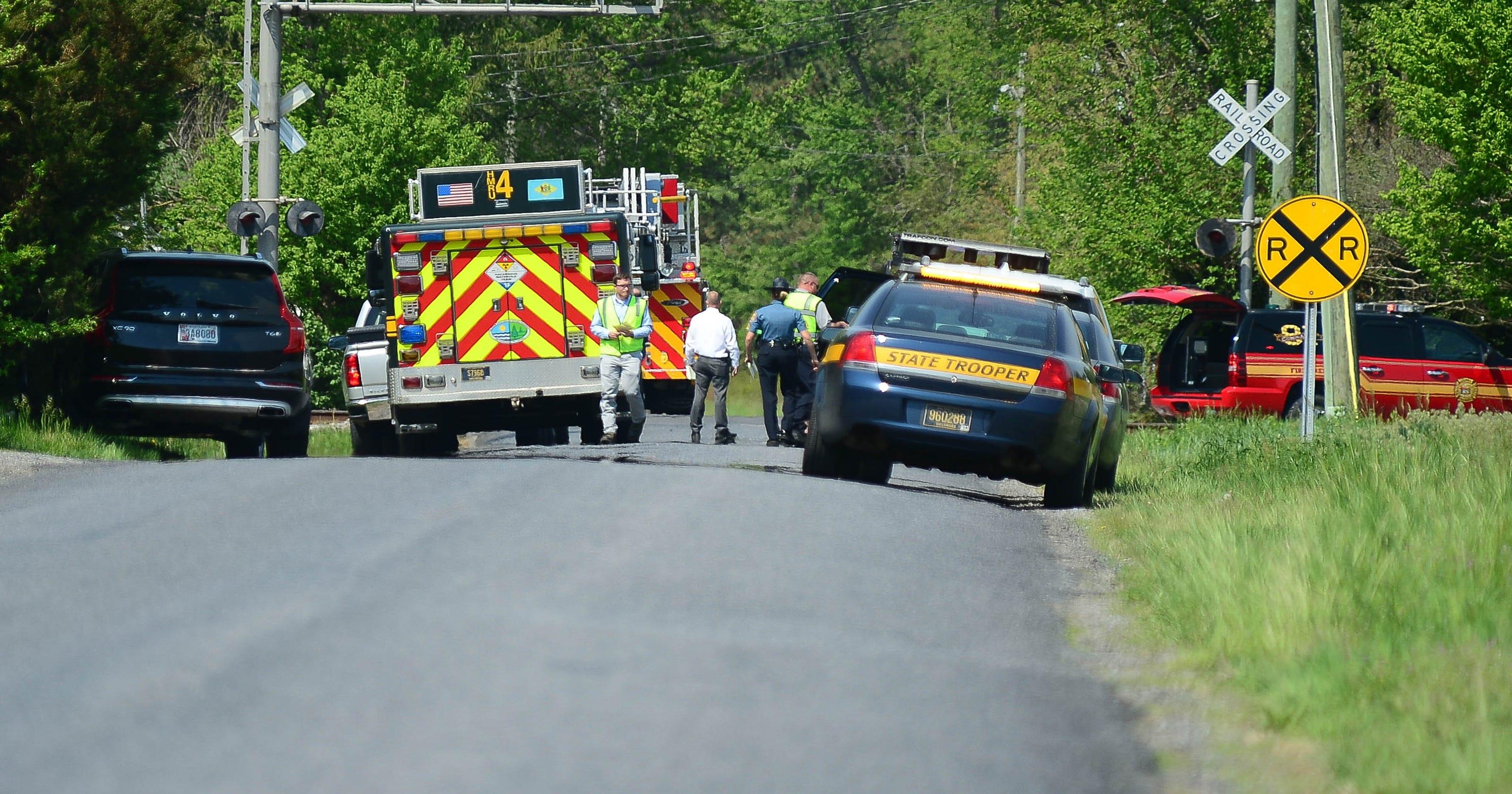 Victim in Delmar train crash identified