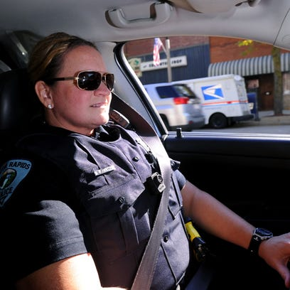 Fired Eaton Rapids police officer gets her job back