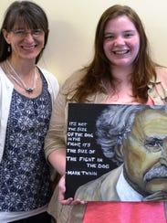 Wisconsin Valley Lutheran High School art teacher Lois