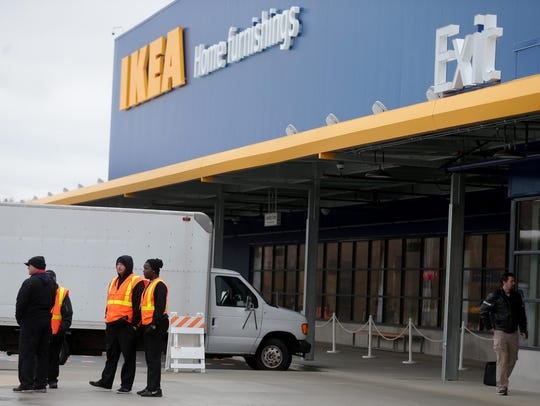 The new store is Ikea's 43rd in the U.S. and 392nd