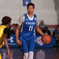 Five-star UK and U of L target Markelle Fultz at the Under Armour Finals in Atlanta, Ga.