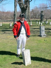 Revolutionary War re-enactor and seasonal employee
