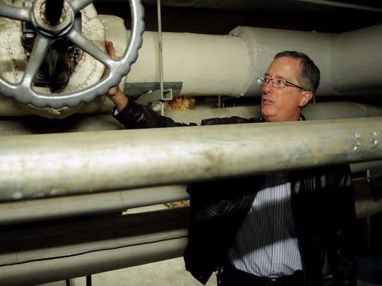 Rick Pretzman, a facilities management director for