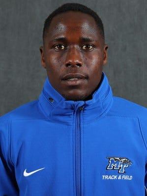 MTSU long distance runner Geoffrey Cheruiyot