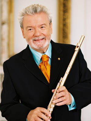 Sir James Galway and Lady Jeanne Galway return to the First Reformed Church of Nyack on March 24, to play classical and Irish songs, a week after St. Patrick's Day. The performance is an ArtsRock presentation.