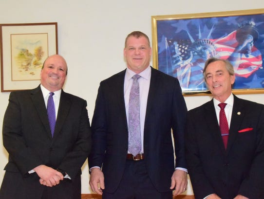 Republican Knox County mayoral candidates Brad Anders,