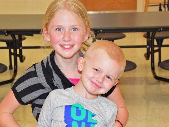 Sydnie Curren, 10, attends Pre-Kindergarten Round Up