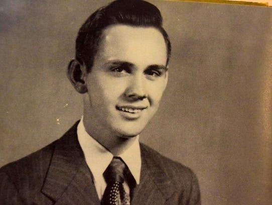 """Best All-Around Boy Billy Freels in 1952. """"I'm still"""
