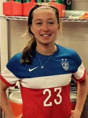 Canton resident Courtney Petersen is making a bid to play in the 2016 FIFA U-20 Women's World Cup for the United States.