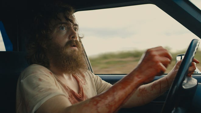 "Macon Blair stars as a distraught man in the thriller ""Blue Ruin."""