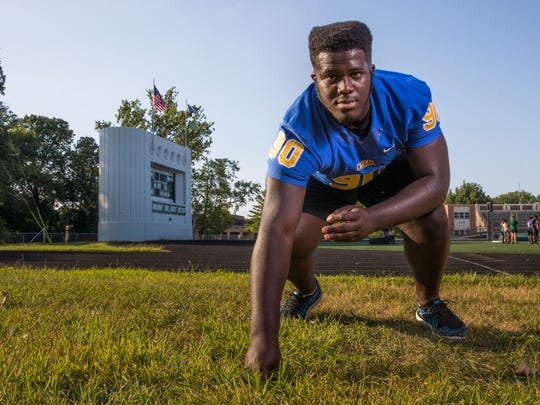 Cole Brevard, defensive tackle, Carmel High School,