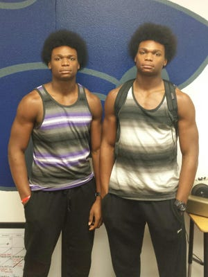 Junior twins J'Rell and A'Drell Williams have the work ethic to break out and end up with Division I football offers.