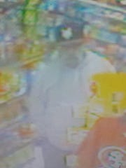 Sparks police are looking for a suspect that threatened